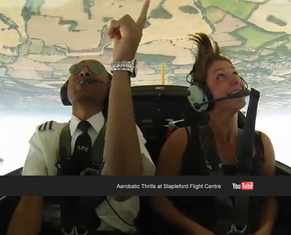 Book an aerobatic lesson today - Stapleford Flight Centre