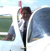 Anneli Christian-Phillips, Aviation Author, PPL & CPL Instructor