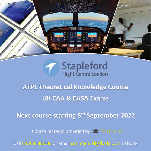 ATPL Theory Course at Stapleford Flight Centre!