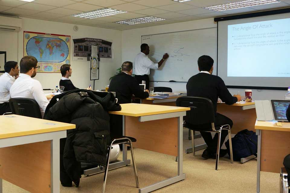 Modern Classroom Facilities ~ Flight training aircraft stapleford centre
