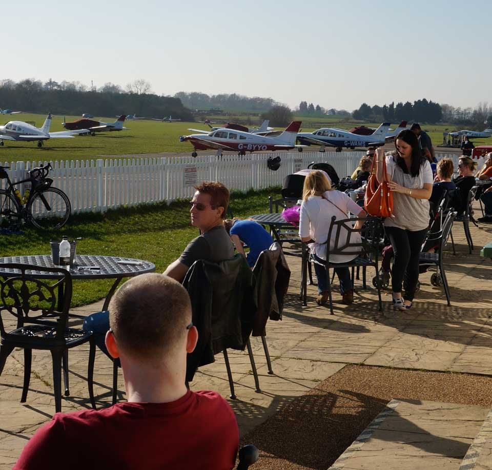 SFC clubhouse - Viewing terrace