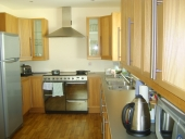The kitchen facilities in the new SFC accommodation