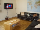 SFC student accommodation - Comfortable and spacious living area