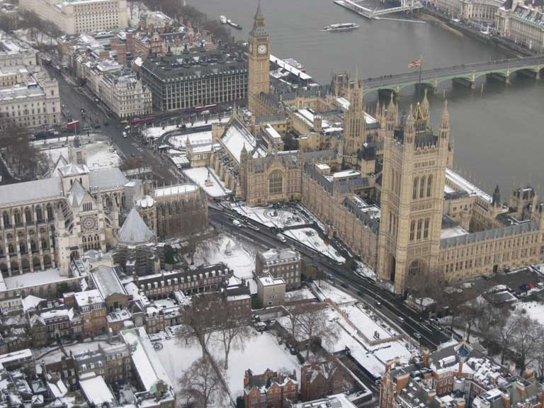 The Houses of Parliament - Taken from an SFC aerial photography charter flight..