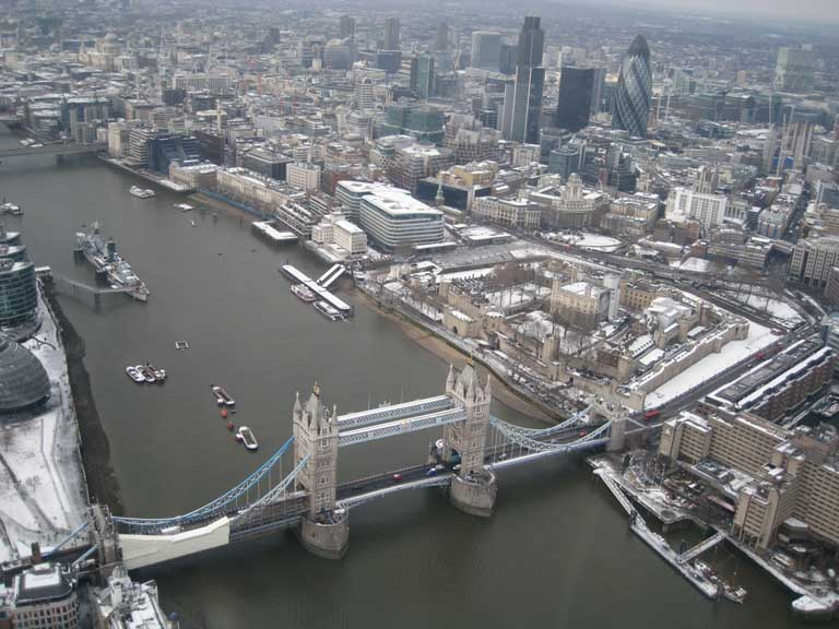 The Tower of London - Taken from an SFC aerial photography charter flight..