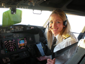Sara Cutter - First Officer, Ryanair