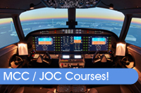 Click to find out about our latest MCC / JOC courses!