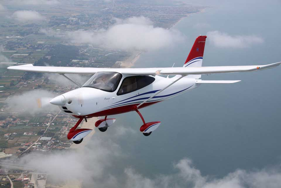 SFC's flight training fleet - The Tecnam P2008JC